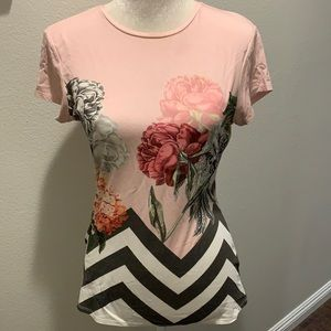 Ted Baker Floral Fitted Shirt